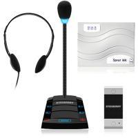 Комплекс аппаратуры клиент-кассир с аудиорегистрацией